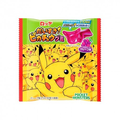 Daisuki Pikachu Grape Gummies