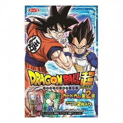 Dragon Ball Super Card 2 Chewing Gum