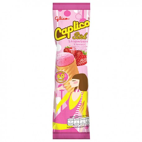 Caplico Wafer Cone Strawberry
