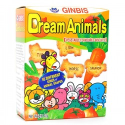 Biscoitos Dream Animals Vegetais