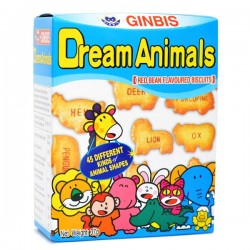 Biscoitos Dream Animals Feijão Azuki