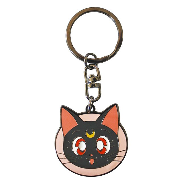 Sailor Moon and Luna Keychain with Pouch
