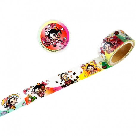 Akubi Girl Washi Tape As Time Goes By 1
