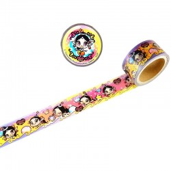 Washi Tape Akubi Girl Jewelry