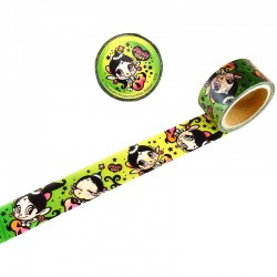 Akubi Girl Washi Tape Breeze