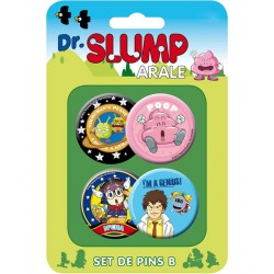 Dr. Slump Button Badges Set B