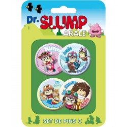 Dr. Slump Button Badges Set C