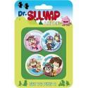 Dr. Slump Button Badges Set C