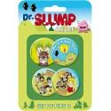 Dr. Slump Button Badges Set D