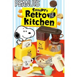 Re-Ment Snoopy Retro Kitchen