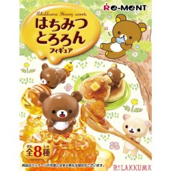 Rilakkuma Honey Sweets Re-Ment