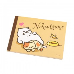 Bloco Notas Neko Atsume Heart