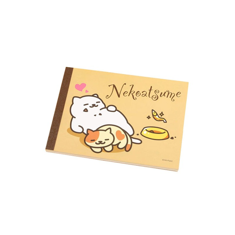 Neko Atsume Heart Memo Pad Kawaii Panda Making Life Cuter