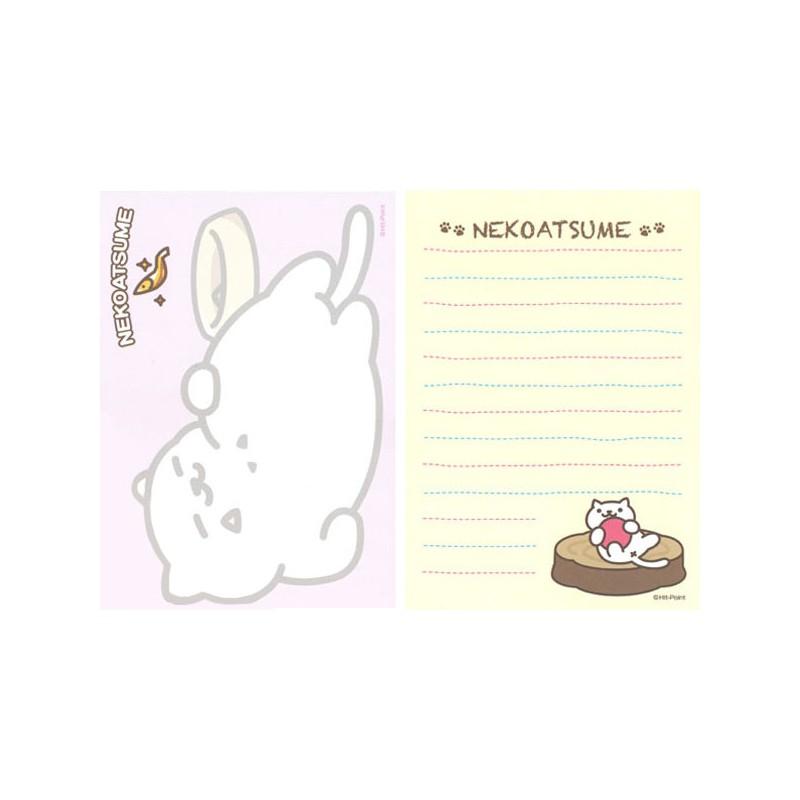 Neko Atsume Heart Memo Pad Kawaii Panda Making Life Cuter
