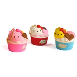 Hello Kitty Ice Cream Squishy