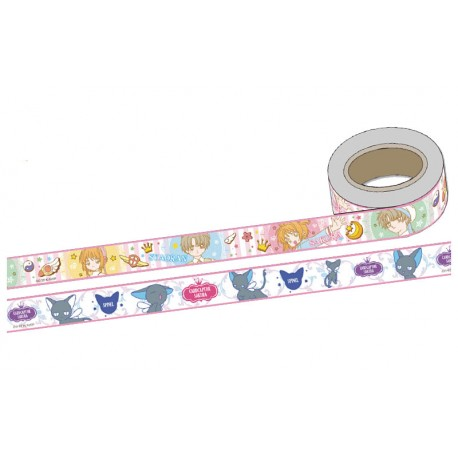 Cardcaptor Sakura Syaoran & Suppi Washi Tapes Set
