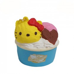 Squishy Gelado Hello Kitty