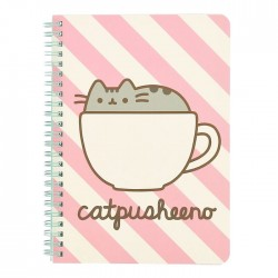 Caderno A5 Pusheen Catpusheeno