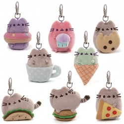 Pusheen Keychain Snack Time Series