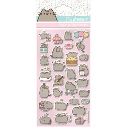 Pusheen Puffy Stickers