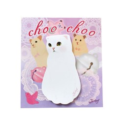 Choo Choo Lace Sticky Notes
