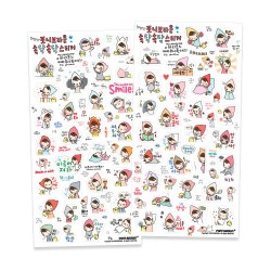 Set Stickers Talk Talk Mariffe
