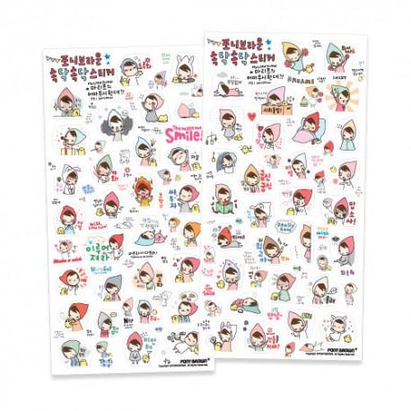 Talk Talk Mariffe Stickers