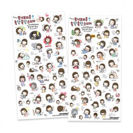 Talk Talk Day & Day Stickers