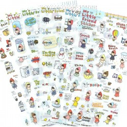 Set Stickers My Little Friend Planner