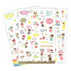 Set Stickers My Little Friend Special Version