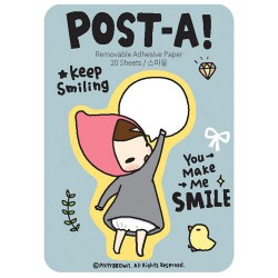 Post-A! Mariffe Smile Sticky Notes