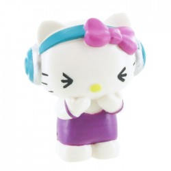 Mini Figura Hello Kitty Music