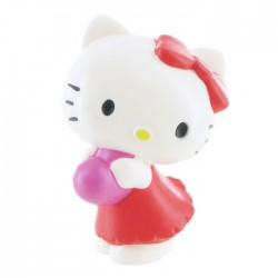 Hello Kitty Heart Mini Figure