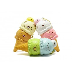 Sumikko Gurashi Double Ice Cream Squishy