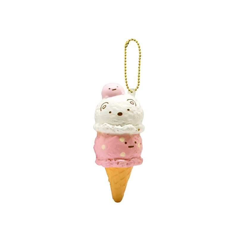sumikko gurashi double ice cream squishy - kawaii panda