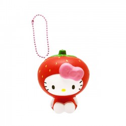 Hello Kitty Fruits Market Strawberry Squishy