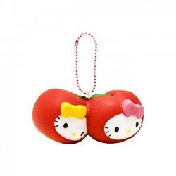 Squishy Hello Kitty Fruits Market Twin Cherries