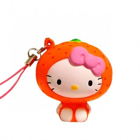 Squishy Hello Kitty Orange