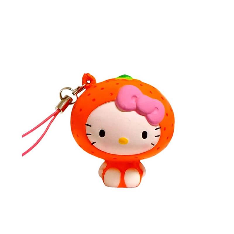 Hello Kitty Orange Squishy Kawaii Panda Making Life Cuter