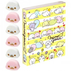 Mamegoma Yurumame Stripes Memo Book