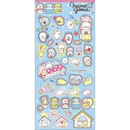 Mamegoma Yurumame Life Stickers