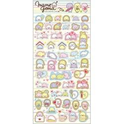 Mamegoma Yurumame Life Planner Stickers
