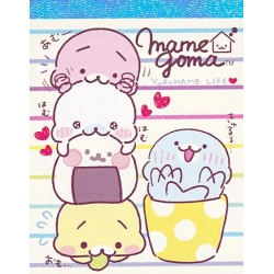 Mamegoma Yurumame Stripes Mini Memo Pad