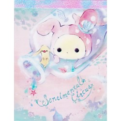 Sentimental Circus Glittering Tears Bottle Mini Memo Pad