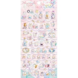 Sentimental Circus Glittering Tears Bottles Stickers