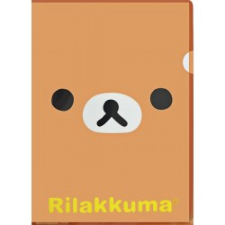 Rilakkuma Face File Folder