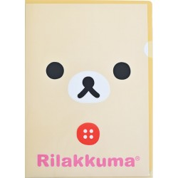 Korilakkuma Face File Folder