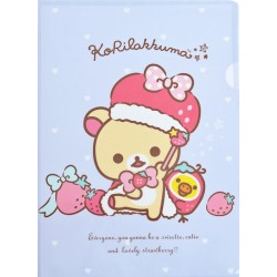 Korilakkuma Strawberry File Folder