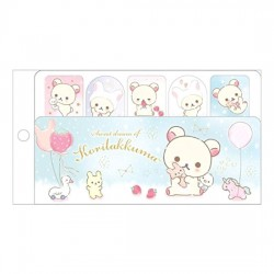 Notas Adhesivas Korilakkuma Sweet Dream Strawberry
