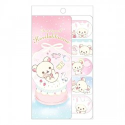Korilakkuma Sweet Dream Snowglobe Sticky Notes